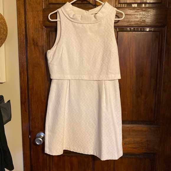 Forever 21 Dresses & Skirts - White Mod-Style Dress